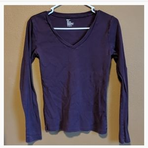 *3 for $10* Gap Long-sleeved top purple